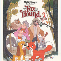 The Fox and the Hound 27x40 Movie Poster (1981)