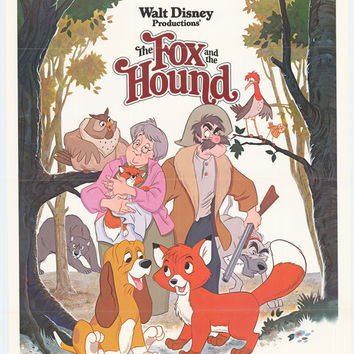 The Fox and the Hound 11x17 Movie Poster (1981)