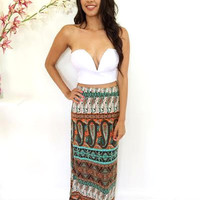 Mystic Gemstone Maxi - Blue