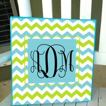 Personalized Notebook Binder Insert 3 Ring Binder Folder School Office Chevron Polka Dots Monogrammed Note Book - Binder Not Included