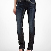Miss Me Sequins Straight Stretch Jean