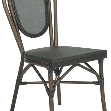Thonet Style Bistro Side Chair Black (Set of 2)