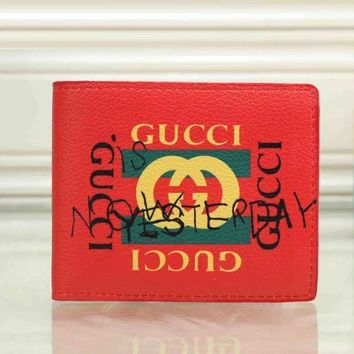 DCCK GUCCI Men Fashion Purse Wallet-3