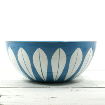 Cathrineholm Bowl Blue Lotus - Mid Century Scandinavian
