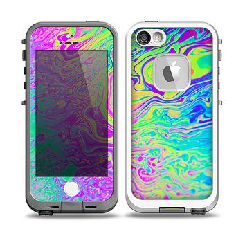 The Neon Color Fushion Skin for the iPhone 5-5s fre LifeProof Case
