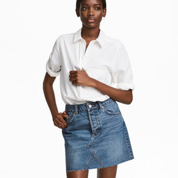 H&M Denim Skirt $24.99