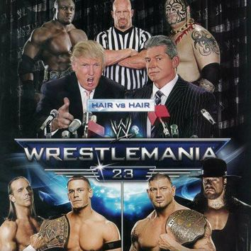 WrestleMania 23 27x40 TV Poster (2007)
