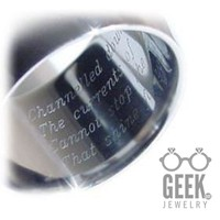 Custom Laser  Engraving - Ring, Pendant or Other item