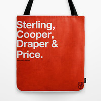 Mad Men | Sterling, Cooper, Draper & Price Tote Bag by Armando Medina | Society6