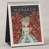 Monarch 2015 Desk Calendar by Rifle Paper Co. Blue One Size Office