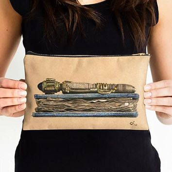 River Song Sonic Screwdriver Zipper Pouch