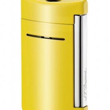 S.T. Dupont MiniJet Canary Yellow Torch Flame Lighter