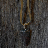 Arrowhead Necklace American Indian Jewelry Tribal Indian