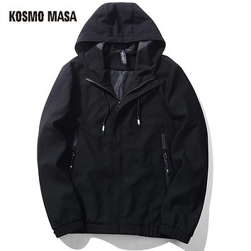 Quick Dry Breathable Jacket Coat For Men Regular Cotton Winter Male Space Hooded Hoody Jacket Hoodies