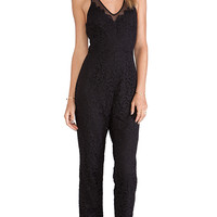 SAYLOR Abigail Jumpsuit in Black