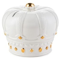 Ceramic Crown Money Bank