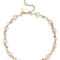 kate spade new york 'pretty petals' collar necklace | Nordstrom