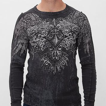 Affliction Sole Survivor Reversible Thermal Shirt