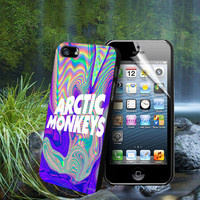 Arctic Monkeys Art - For Samsung Galaxy S3 / S4 and IPhone 4 / 4S / 5 / 5S / 5C Case