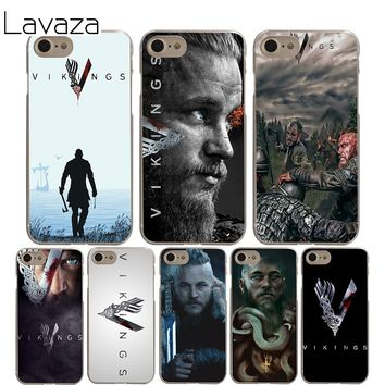 Lavaza Ragnar Lothbrok Vikings Case for iPhone XS Max XR X 8 7 6 6S Plus 5 5s se