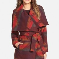 Women's Steve Madden Blanket Wrap Coat,