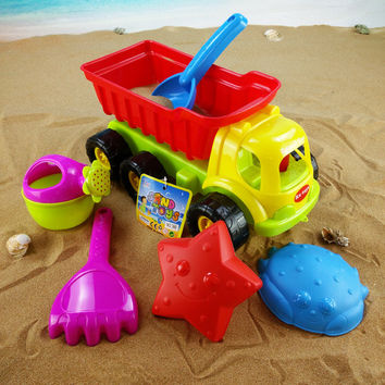 Easy Tools On Sale Home Kitchen Helper Hot Deal Plastic Toy Children Beach 6-pcs Spoon [10261286092]