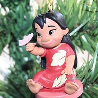 Licensed cool CUSTOM Disney Animators Lilo & Stitch Hawaii Toddler Christmas Ornament PVC 2017