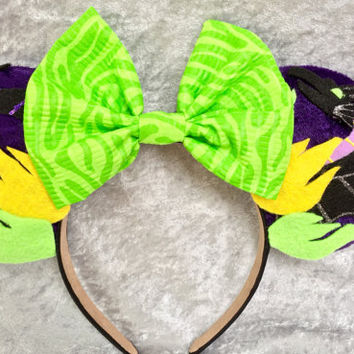 Maleficent Themed Mouse Ears