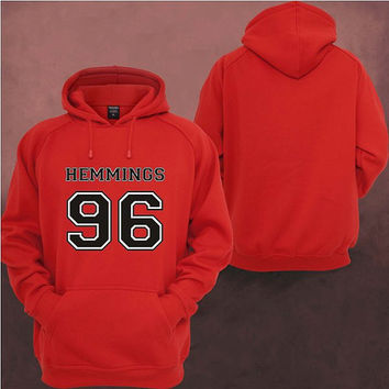 Luke Hemmings 96 Hoodies Hoodie Sweatshirt Sweater Shirt Unisex size