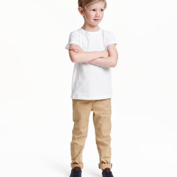 H&M Cotton Chinos $12.59