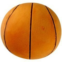 Basketball Sports Pillow by Komet Creations