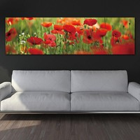 canvas picture wall art Poster Landscape flower paintings on the wall painting  home decoration picture canvas Painting no frame