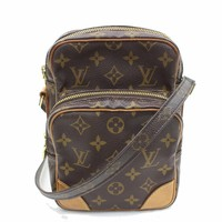 Authentic Louis Vuitton Shoulder Bag Amazon M45236 Browns Monogram 246289