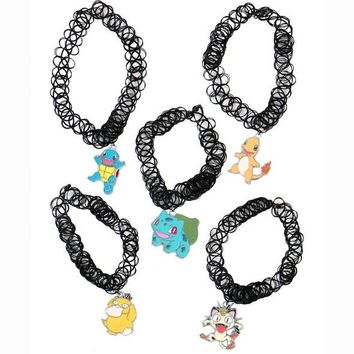 Pokemon Tattoo Chokers