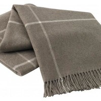 Windowpane Cashmere Throws | 6 Colors