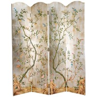Yin 4 Panel Screen