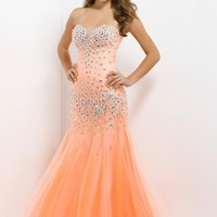 Blush 9755 at Prom Dress Shop