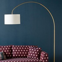 Brass Arch Floor Lamp