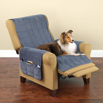 The Non-Slip Furniture Protecting Pet Covers - Hammacher Schlemmer