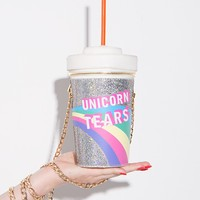 Skinnydip Unicorn Tears Novelty Crossbody Bag