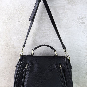 Free Roam Black Purse