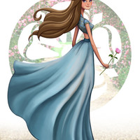 Margaery Tyrell from GAME of THRONES (Song of Ice and Fire) art painting print, signed by Leann Hill
