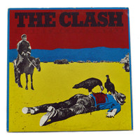 Vintage 70s The Clash Give 'Em Enough Rope Album Record Vinyl LP