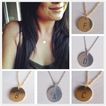 DIY A-Z Capital Necklace