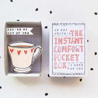 The Instant Comfort Pocket Box - my cup of tea