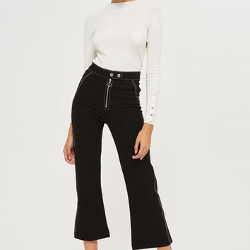Ponte Kick Flare Trousers