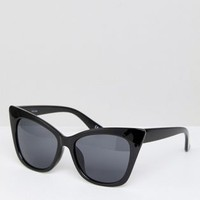 ASOS Basic Cat Eye Sunglasses at asos.com