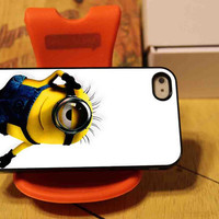 Despicable Me Minion Cute NDR for iPhone 4 case iphone 4S case iPhone 5 Case iphone 4/4s/5 Case Hard Cover