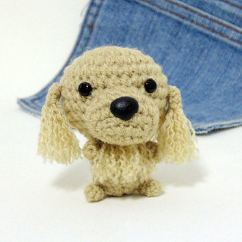 Amigurumi Cocker, crochet American Cocker Spaniel, Cocker plushie.Crochet dog. Stuffed dog.Stocking stuffer.