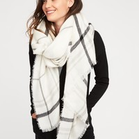 Flannel Blanket Scarf for Women | Old Navy